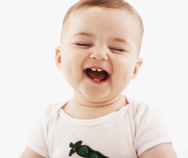 Sorriso dos bebês (Foto: Thinkstock)
