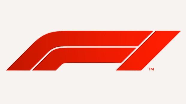 O novo logo da Fórmula 1, que remete ao formato dos carros (em teoria) (Foto: Divulgação)