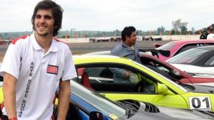 Fiuk estreia como piloto de Drift e mostra sua habilidade no volante (Bernardo Medeiros / Globoesporte.com)
