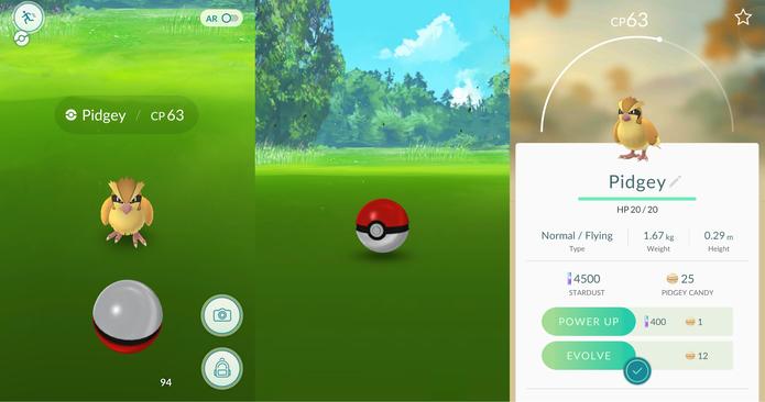 Pokémon Go é simples, bonito e divertido (Foto: Reprodução/Caio Fagundes)