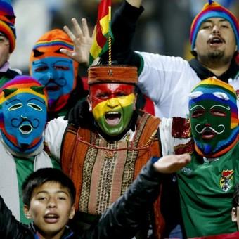 Torcida, México x Bolívia Copa América (Foto: Agência EFE)