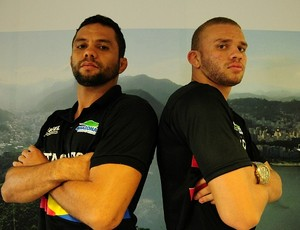 Lucas Machado e Waldeci Silva (Foto: Michael Dantas/Sejel)