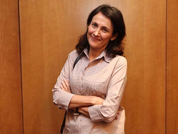 Ana Raposo ficou muito feliz com a participação em Dupla Identidade (Foto: Carol Caminha/Gshow)
