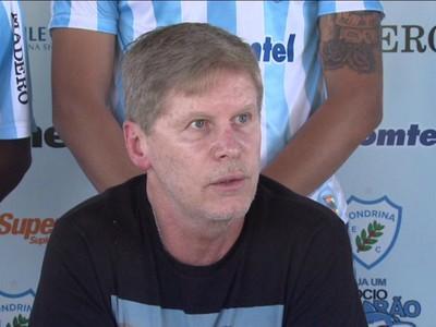 Sergio Malucelli, gestor do Londrina (Foto: Reprodução/RPC)