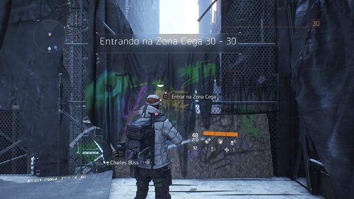 Cada área da DZ é para certos níveis de personagens (Foto: Reprodução/Thiago Barros)