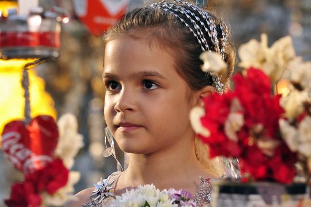 A atriz Mel Maia como a pequena Rita, papel que conquistou o país na novela Avenida Brasil em 2012 (Foto: Estevam Avellar/Globo)