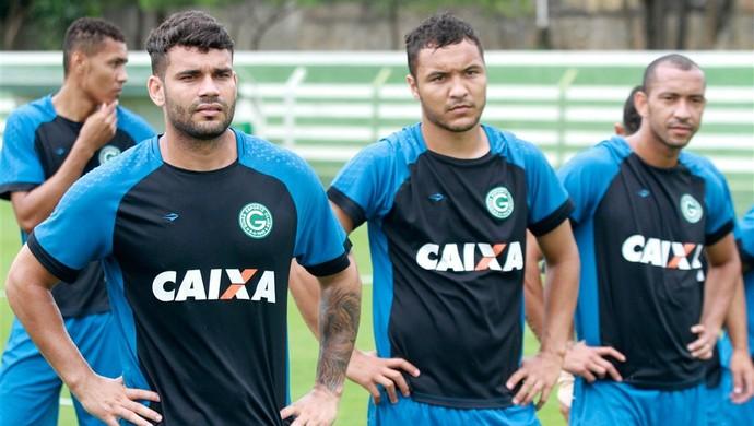 Dodô treina com o Goiás desde o início do ano (Foto: Rosiron Rodrigues / Goiás E.C.)