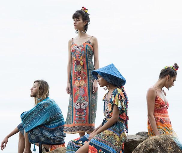 Imagem da campanha da coleção Shangri-la, da Farm (Foto: Divulgação)