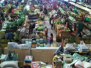 Mercado Albano Franco vai passar por limpeza (Foto: Joelma Gonçalves/G1 SE)