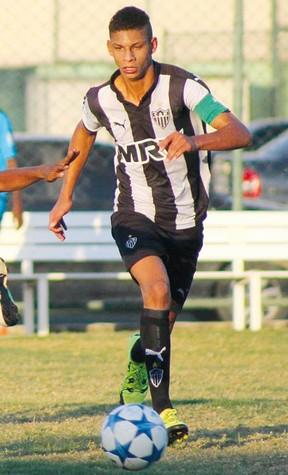 Wandrew, volante da base do Atlético-MG