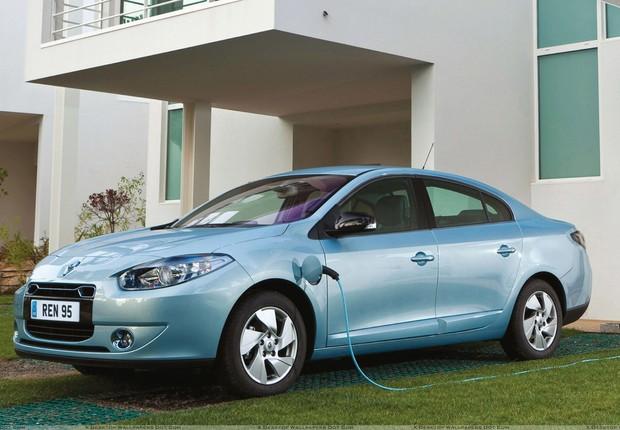 Renault Fluence Z.E. (Foto: Divulgação)