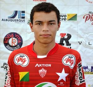 Nando da Silva (Nando), 17 anos, lateral-direito Rio Branco (Foto: Duaine Rodrigues)