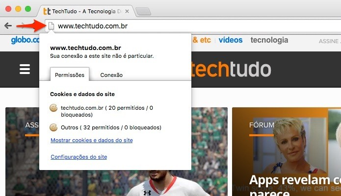 Chrome-Informacoes-Site