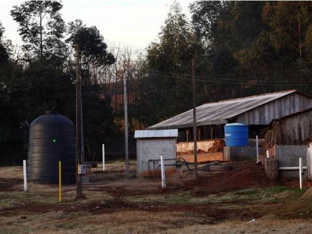 Propriedades rurais estão sendo preparadas para se integrarem ao programa de produção de biogás (Foto: Centro Internacional de Hidroinformática / Divulgação)