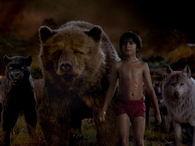 Cena de 'Mogli – O menino lobo' (Foto: Divulgação)