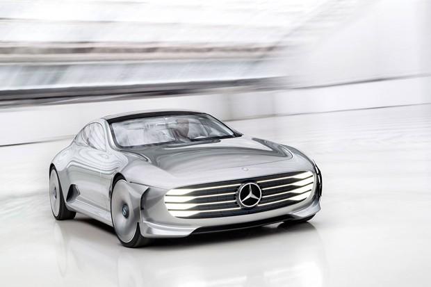 Conceito IAA é inspiração para modelos elétricos da Mercedes (Foto: Divulgação)