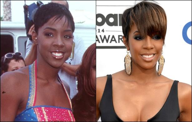 A ex-Destiny's Child Kelly Rowland mantém o sorriso cativante e o olhar doce de quando tinha 17 anos, em 1998. Mas agora, aos 33, a cantora está mais sexy do que nunca! (Foto: Getty Images)