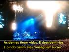 Pearl Jam vai doar US$ 100 mil para atingidos pela tragédia em Mariana