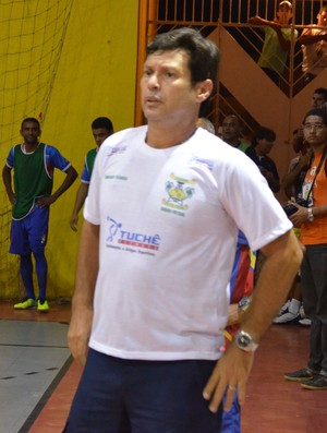 Eurico Souza; Técnico; Siriri; Futsal (Foto: João Áquila / GloboEsporte.com)