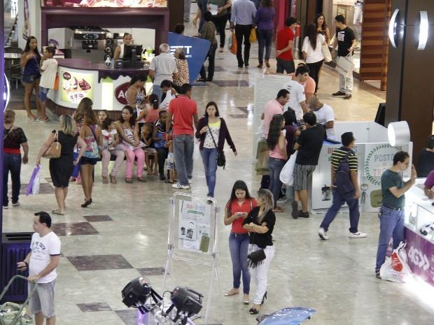 Shopping Pátio Belém compras (Foto:  Fábio Costa/ O Liberal)