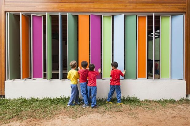 9 escolas brasileiras com bons projetos de arquitetura (Foto: Pedro Vanucchi)