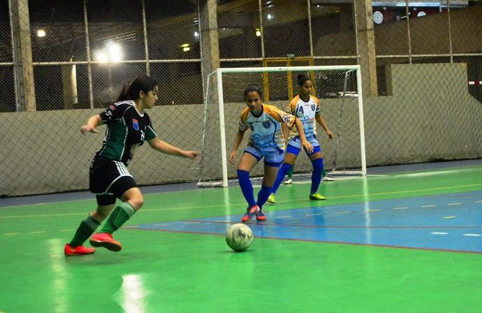 Futsal feminino amazonas Estrela do Norte (Foto: Emanuel Mendes Siqueira)