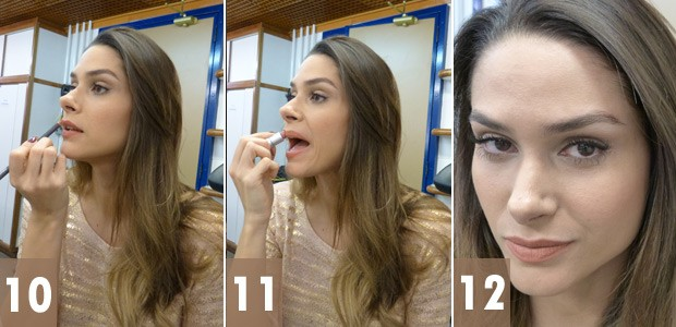 Fernanda Machado maquiagem 4 (Foto: Amor à Vida/TV Globo)