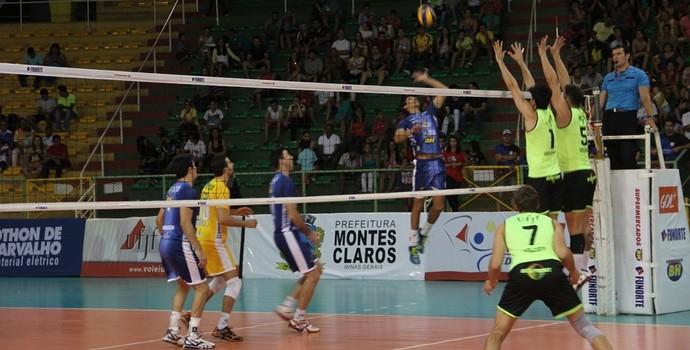Montes Claros venceu a segunda partida pelo Mineiro (Foto: Fredson Souza/MCV)