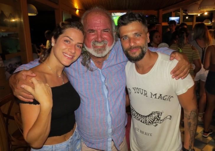 Giovanna Ewbank , Zé Maria e Bruno Gagliasso