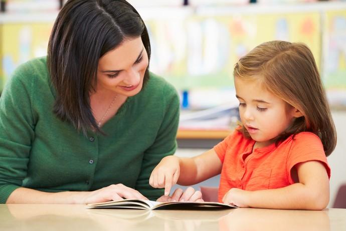 Ler transforma o modo como as crianças se relacionam com os adultos e com outras crianças (Foto: Shutterstock)