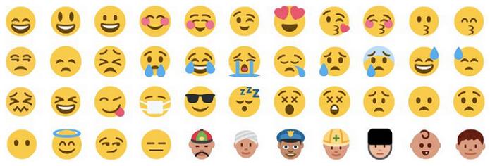 Emojis do Twitter também funcionam no TweetDeck (Foto: Reprodução/Emojipedia)