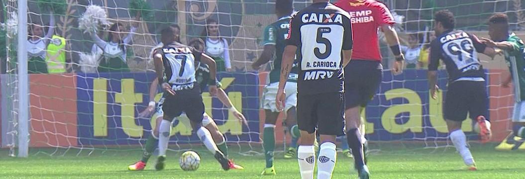 Confira os melhores momentos de Palmeiras 0 x 1 Atlético-MG