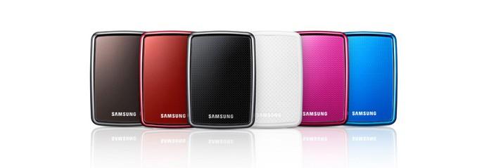 Samsung é uma marca que oferece diversos modelos de HD's externos  (Foto: Divulgação/Samsung)