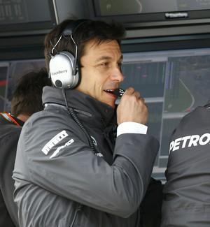 Toto Wolff - Mercedes - GP da Áustria (Foto: Reuters)
