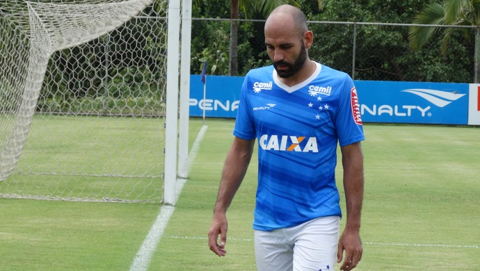 Bruno Rodrigo, zagueiro do Cruzeiro (Foto: Marco Antônio Astoni)