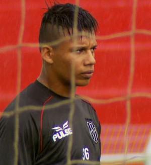 Rafael Ratão atacante Ponte Preta (Foto: Carlos Velardi / EPTV)