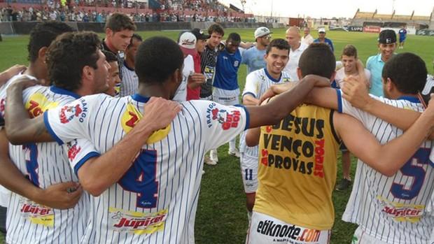 Cianorte comemora vitória por 2 a 1 sobre o Mogi Mirim, pela Série D (Foto: Divulgação)
