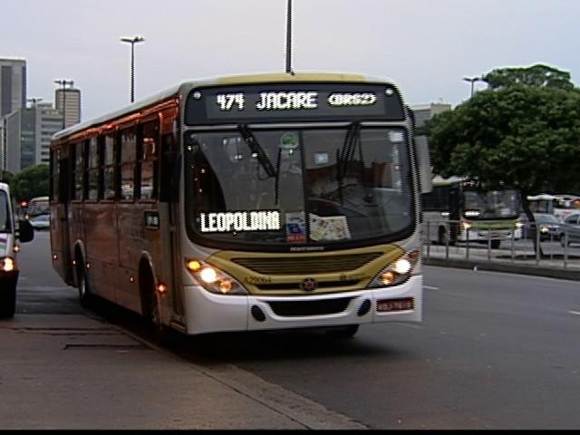 Rio de Janeiro tem reajuste na tarifa de ônibus (Foto: reprodução Globonews)
