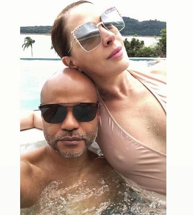 Ale de Souza e Claudia Raia (Foto: Reprodução/Instagram)