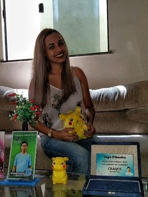 Suellen Yago Pikachu (Foto: Felipe Schmidt)