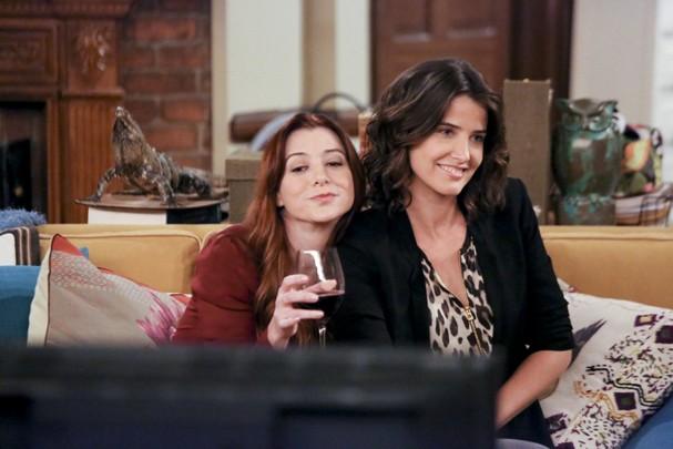 Lily e Robin (Foto: Reprodução)