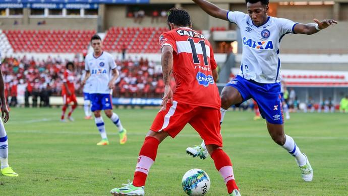 CRB x Bahia, Série B 2016 (Foto: Ailton Cruz/Gazeta de Alagoas)