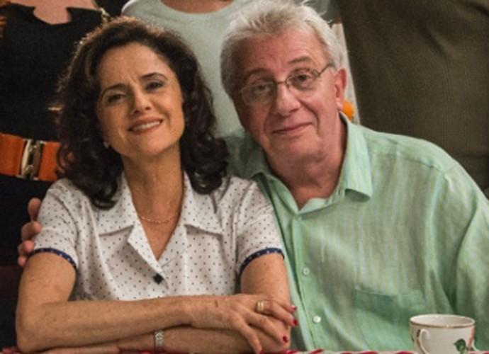Essa família muito unida faz uma falta, né? (Foto: Divulgação/TV Globo)