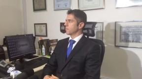 O delegado Alessandro Thiers conversou com o EGO sobre o caso Taís Araújo (Foto: EGO)