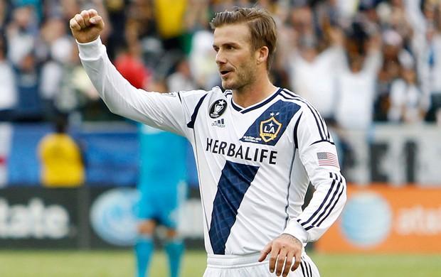 David Beckham no Galaxy (Foto: Reuters)