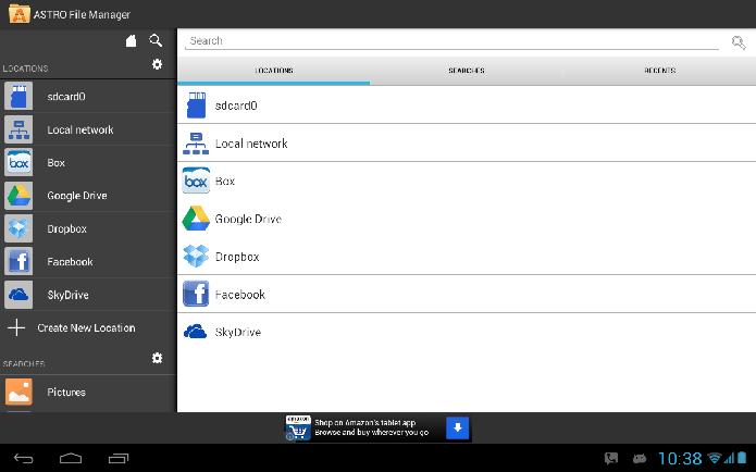 Astro File Manager é um gerenciador de arquivos para Android (Foto: Divulgação/Astro File Manager)