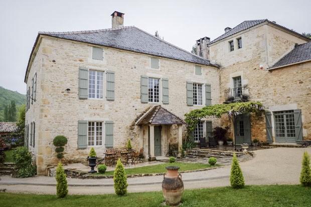 Casa do século 17 na França  (Foto: Yann Rabanier / The New York Times )
