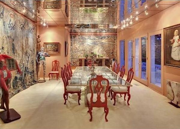 Uma foto da mansão que Beyoncé e Jay-Z pretendem comprar em Los Angeles (Foto: Reprodução)