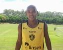 Sem jogar há nove meses, zagueiro Luiz Alberto faz 1º coletivo no Tupy-ES