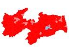Dilma Rousseff ganharia no primeiro turno em 216 municípios da Paraíba